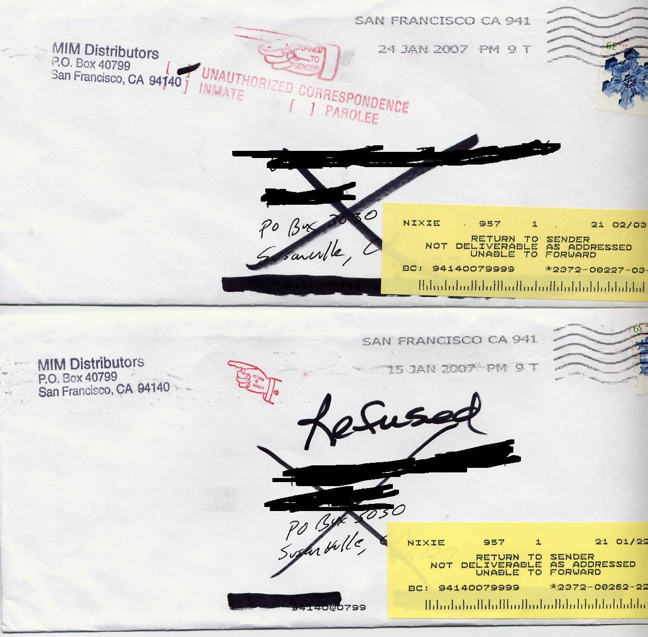 How To Address A Letter To An Inmate In California