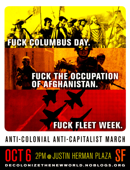 fuck colonialism