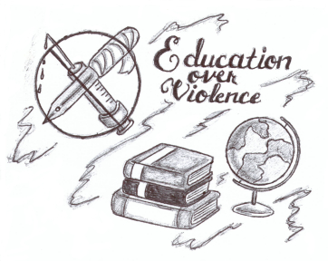 education over violence