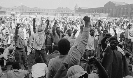 Attica prisoners rally