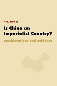 is china an imperialist country?