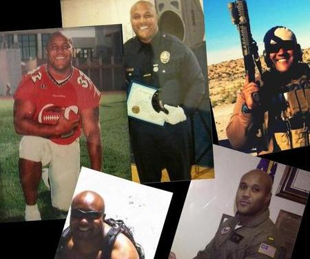 chris dorner collage