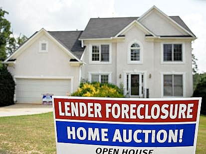 foreclosed McMansion
