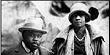 Amy and Marcus Garvey
