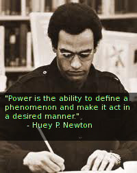 Huey Newton on Power