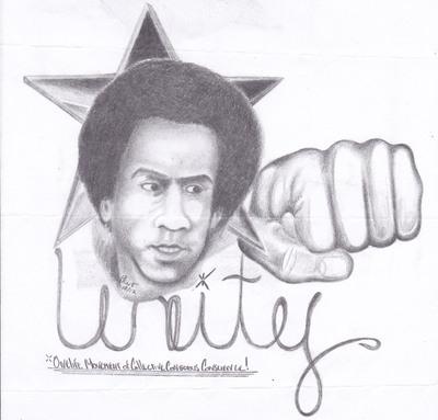 Huey Newton Unity Fist