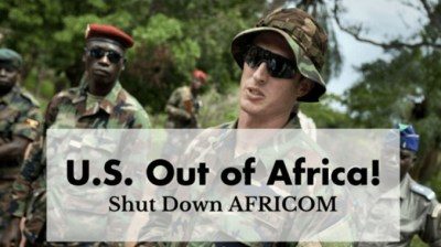 U.$. out of Africa!