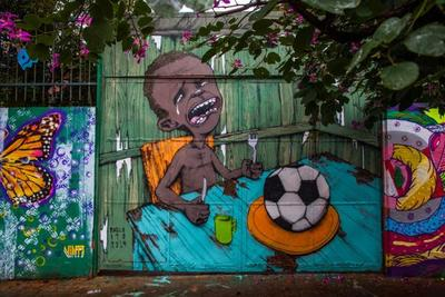 protest world cup in Brazil
