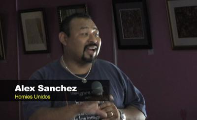 Alex Sanchez of Homies Unidos