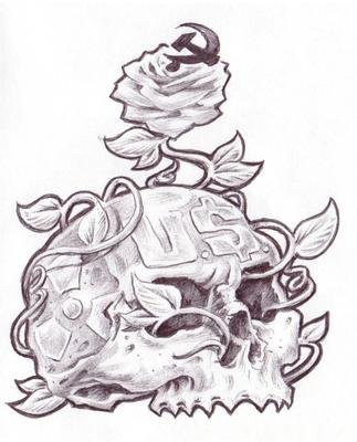 Dead Skull of U.$. Imperialism
