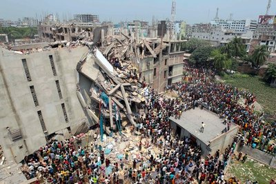 garment factory collapsed in Bangladesh