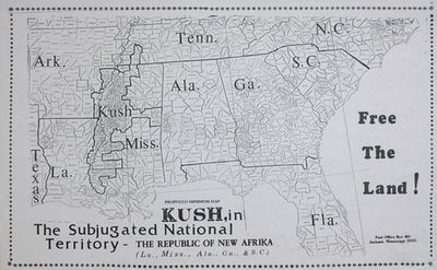 map of kush region