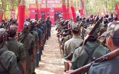 Communist Party of India (Maoist) gathering