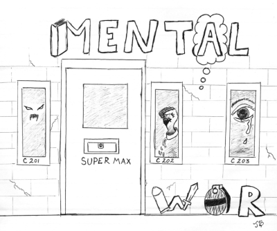 Solitary confinement is a mental war