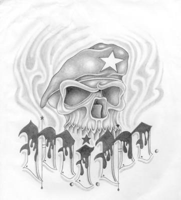 MIM skull