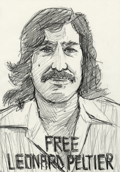 Leonard Peltier 76th birthday