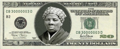 harriet tubman on 20 dollar