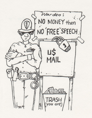 Mail in Trash