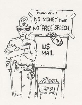 Mail in Trash