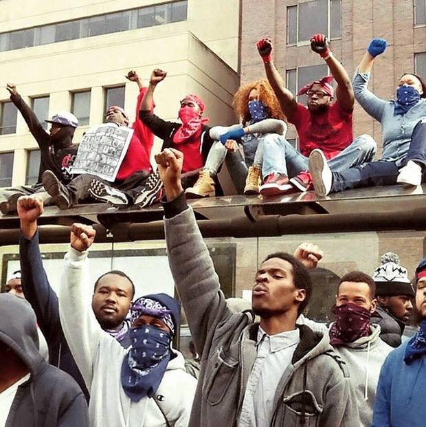 bloods and crips unite for justice for Freddie Gray in Baltimore