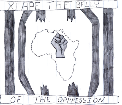africans xcape prison oppression